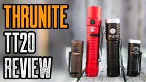 Best Tactical EDC Flashlight | Thrunite TT20 Review | USB-C