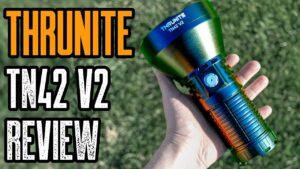 Most Powerful Spotlight   Thrunite TN42 V2 Flashlight Review