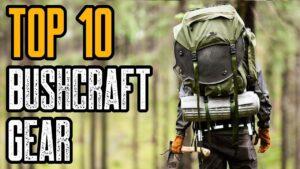TOP 10 BEST BUSHCRAFT GEAR & TOOLS ON AMAZON