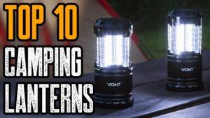 TOP 10 BEST CAMPING LANTERNS & LED LIGHTS ON AMAZON