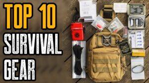 TOP 10 BEST EMERGENCY SURVIVAL GEAR