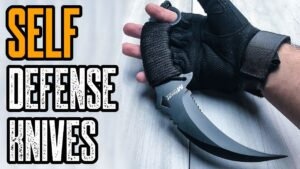 TOP 10: BEST KNIFE FOR SELF DEFENSE ON AMAZON!