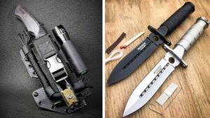 TOP 10 BEST SURVIVAL KNIVES IN THE WORLD