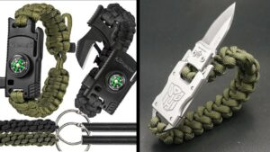 TOP 10 BEST SURVIVAL PARACORD BRACELETS 2020