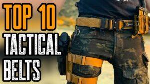 TOP 10 BEST TACTICAL BELTS & GUN BELTS 2021