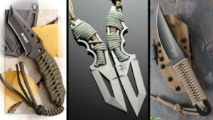 TOP 10: Best Paracord Knife for Survival and Self Defense!