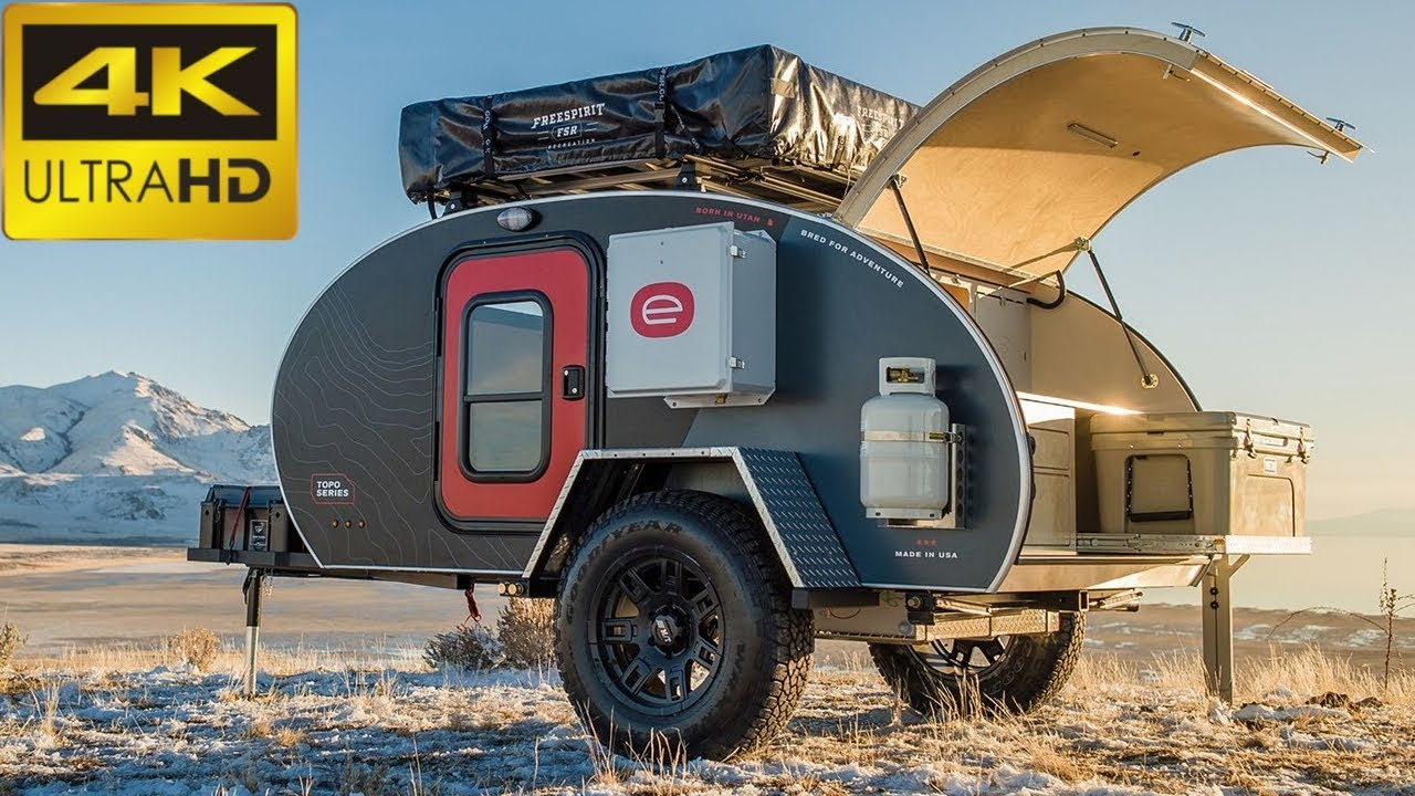 TOP 3: NEW TEARDROP TRAILERS 2019   Must Watch Camping ...