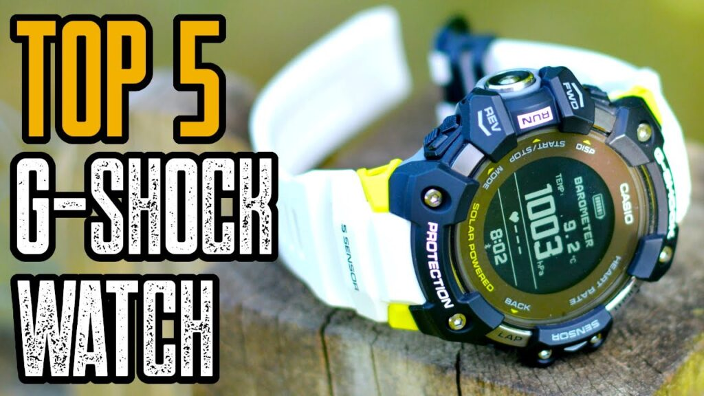 TOP 5: BEST G-SHOCK WATCH FOR THE MONEY