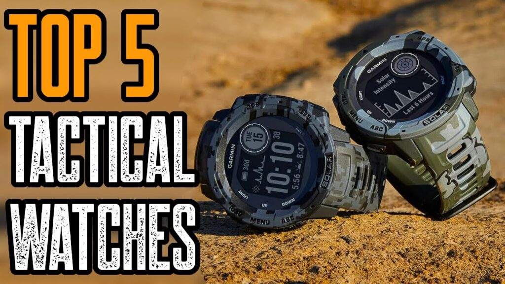 TOP 5 BEST TACTICAL WATCHES 2021