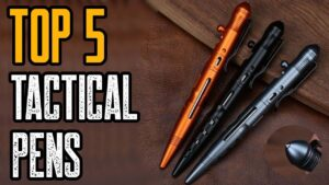 TOP 5: Best Tactical Pen for Survival and Self Defense 2020!