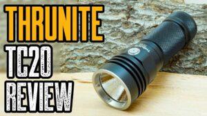 Thrunite TC20 3800 Lumen Flashlight Review