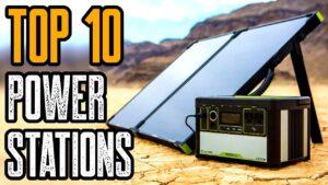 Top 10 Best Solar Generators 2020   Best Power Station 2020