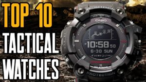 Top 10 Best Tactical Watches for Military & Survival [2019]