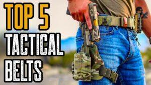 Top 5 Best Tactical Belts On Amazon
