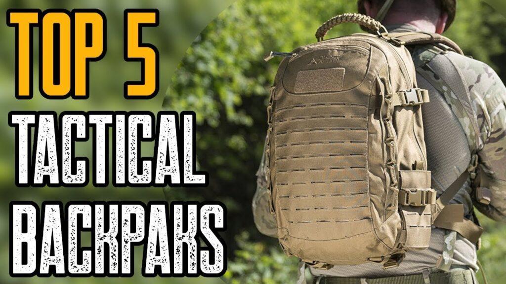 Top 5 Best Tactical & Survival Backpack 2019