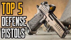 Top 5 Pistols for Beginners & Self Defense
